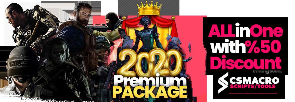 Logitech Lua Script Premium Package Valorant – CSGO – Warzone – Pubg Steam – Apex