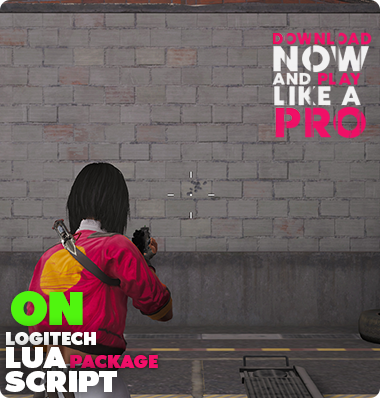 Rogue Company No Recoil Macro Logitech Lua Script