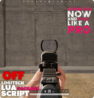 PUBG Steam Logitech Lua Script No Recoil Macro Spray