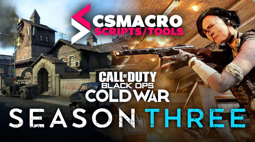 COD BlackOps ColdWar Season 3 No Recoil Macro Razer and Logitech Mouses Download