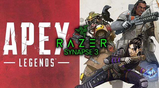 APEX Legends Razer No Recoil Macro Script